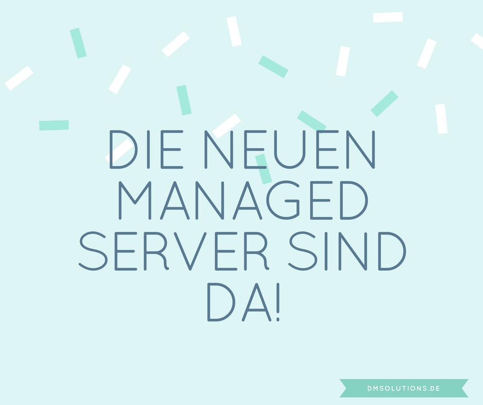 Neue Managed Server mit Plesk sind da