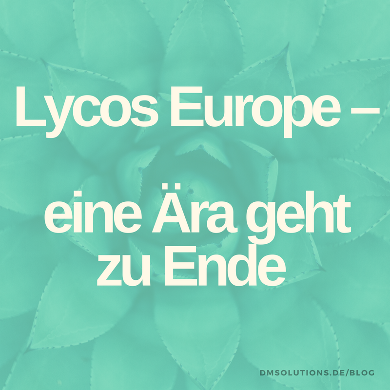 Lycos stellt kostenloses Angebot ein