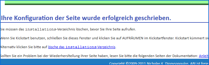 Akeeba Backup rücksichern