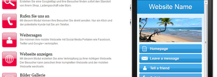 Homepage Baukasten Screenshot 9
