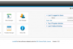 Joomla 1.6 Backend