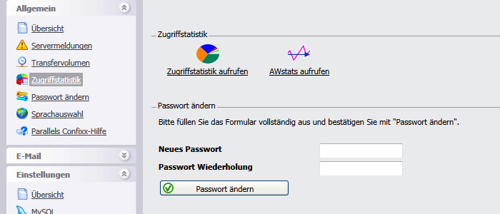 Webalizer Auswertung
