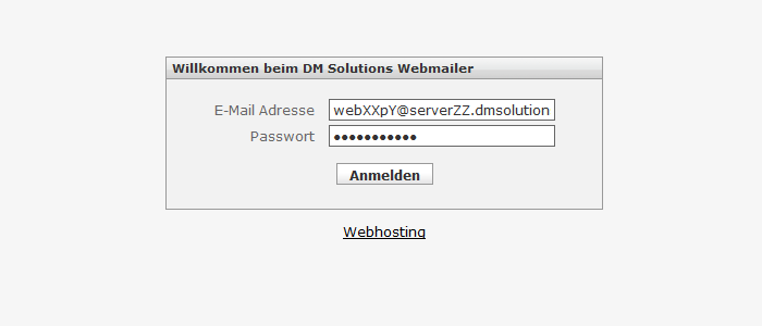 DM Solutions Webmailer Login