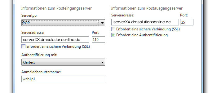 Postfach in Windows Live Mail anlegen