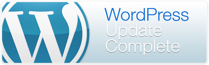 WordPress Update Complete